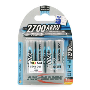 Ansmann 5030842 Rechargeable AA Batteries
