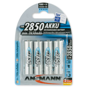 Ansmann 5035212 Rechargeable AA Batteries
