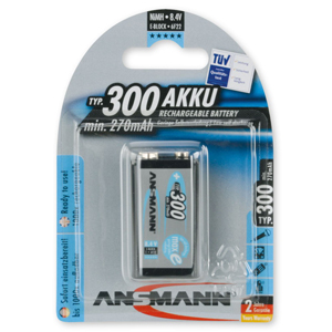 Ansmann 5035453 Rechargeable 9V Battery