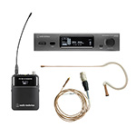 Audio-Technica ATW-3211DE2 Wireless Microphone System with Countryman E6 Earset Microphone