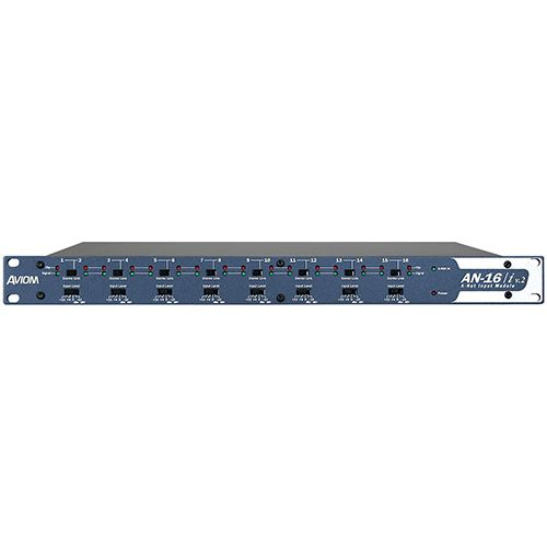 Aviom A-Net input module for generating Pro16e A-Net for A360 personal mixers