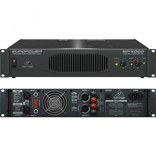 Behringer EP4000 Professional Stereo Power Amplifier