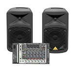 Behringer EUROPORT EPS500MP3 Ultra-Compact Portable PA system