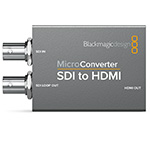 Blackmagic Design (CONVCMIC/SH/WPS) Micro Converter - SDI to HDMI w/Power Supply