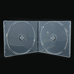 MediaSAFE Clear 2 Disc CD Poly Case  thumbnail