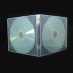 MediaSAFE Clear 2 Disc CD Poly Case other thumbnail