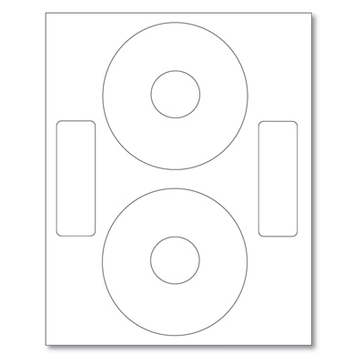 image regarding Printable Cd Labels named CD Labels Printable Matte White Labels