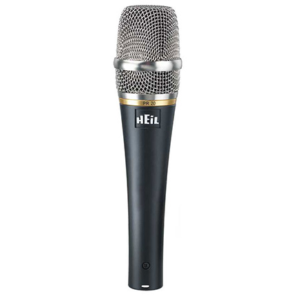 Heil PR 20 Large Dynamic Element Handheld Microphone