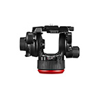 Manfrotto 504X Fluid Video Head with Alu Twin leg right thumbnail