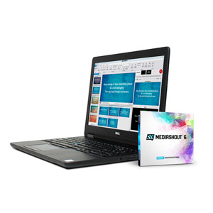 MediaShout 6 Laptop Bundle