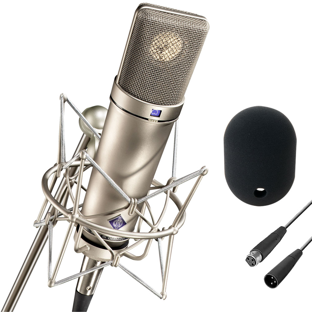 Neumann U87 Ai Set Z Condenser Microphone Details About New Type Circuit Case Shock Hover To Zoom