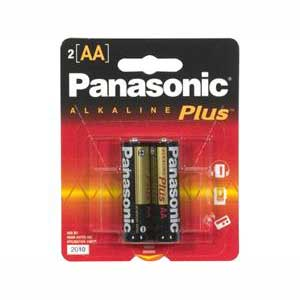 Panasonic AM-3PA/2B Panasonic 2-Pack AA Batteries
