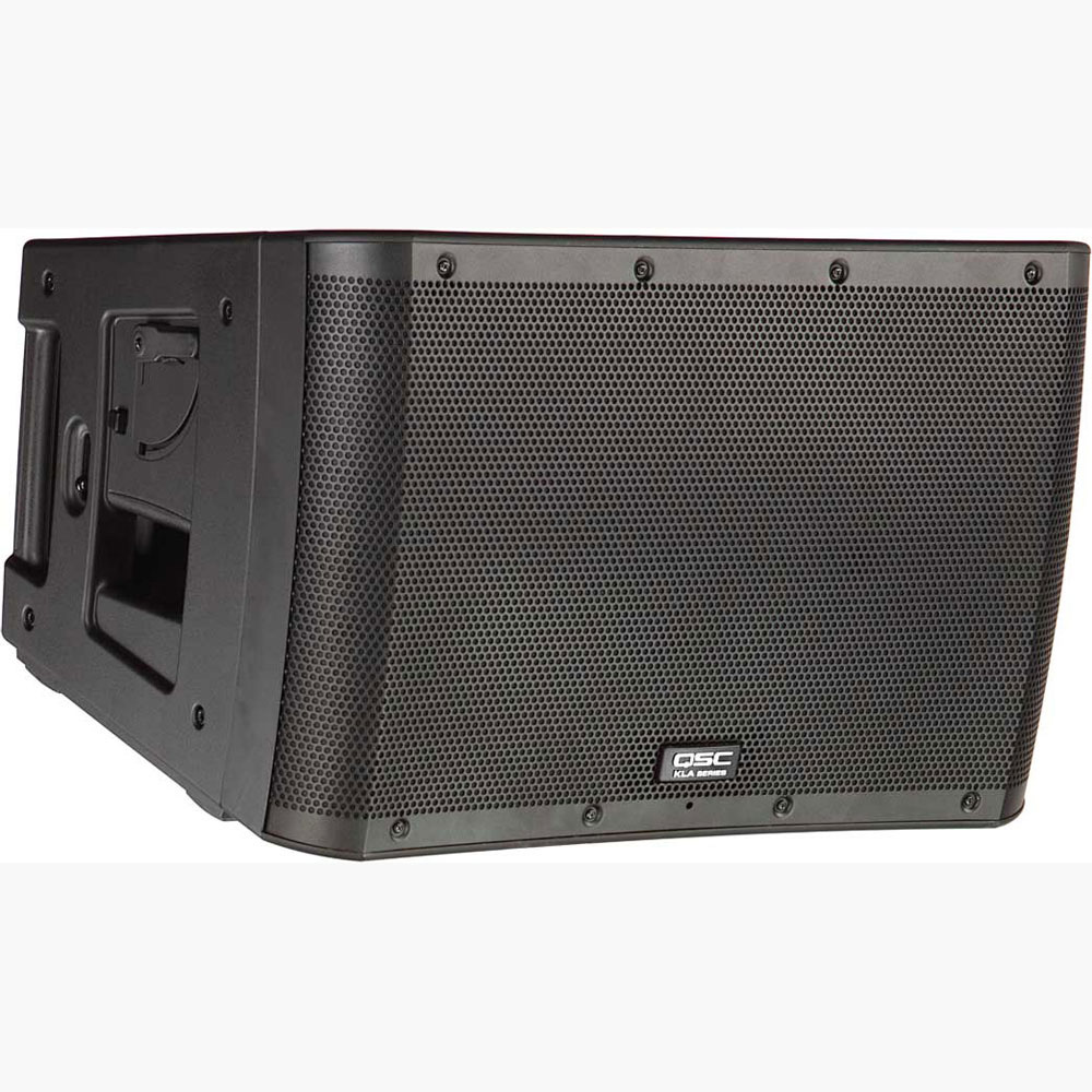 qsc kla12 active line array system black. Black Bedroom Furniture Sets. Home Design Ideas