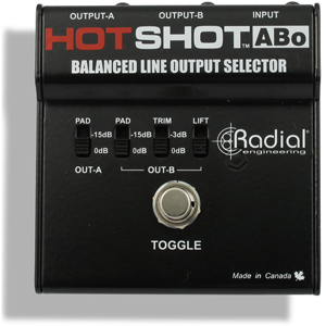 Radial (R800 1509) Footswitch Selector