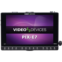 Sound Devices PIX-E7 4K Monitor and Video Recorder