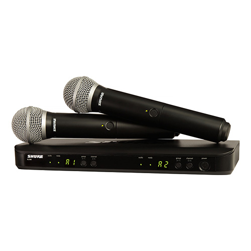 Shure BLX PG58 Dual Vocal System