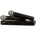 Shure BLX PG58 Dual-Channel Wireless System
