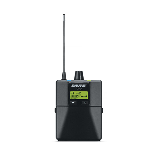 Shure P3RA Premium Wireless Bodypack Receiver