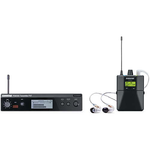 Shure P3TRA Premium Wireless In-Ear Personal Monitor System
