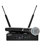 Shure QLX-D Wireless System with Beta58A Handheld Microphone
