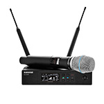 Shure QLX-D Wireless System with Beta 87A Handheld Microphone