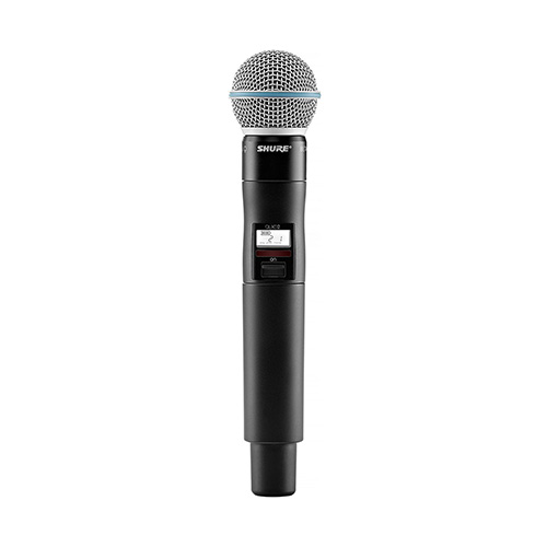 Shure QLX-D Wireless Beta58A Handheld Microphone