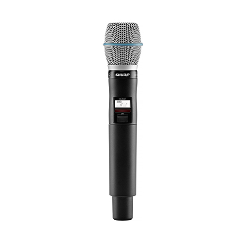 Shure QLX-D Wireless Microphone with Beta 87A Capsule