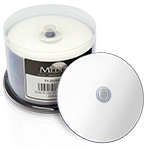 CMC Pro - Powered byTY Technology Watershield Glossy White Inkjet Hub 16X DVD-R