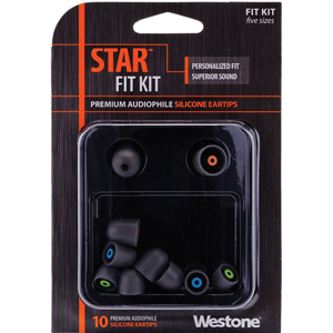 Westone STAR Silicone Tips - Combo Pack