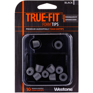 Westone True-Fit Foam Eartips - Black