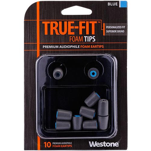Westone True-Fit Foam Eartips - Blue