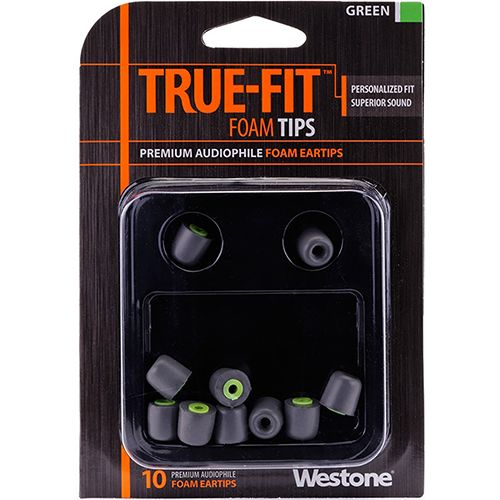 Westone True-Fit Foam Eartips - Green